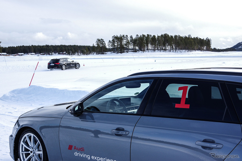 アウディ・アイス・エクスペリエンス・イン・スウェーデン(Audi Ice experience in Sweden)《撮影 宮崎壮人》