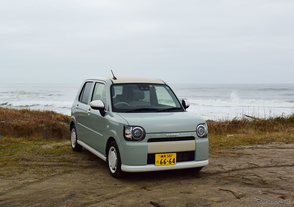 """ミラトコット「G""""SA III""""」。初冬の日本海を眺めながら。《撮影 井元康一郎》"""