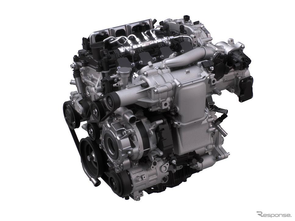 マツダの新ガソリンエンジン「SKYACTIV-X」
