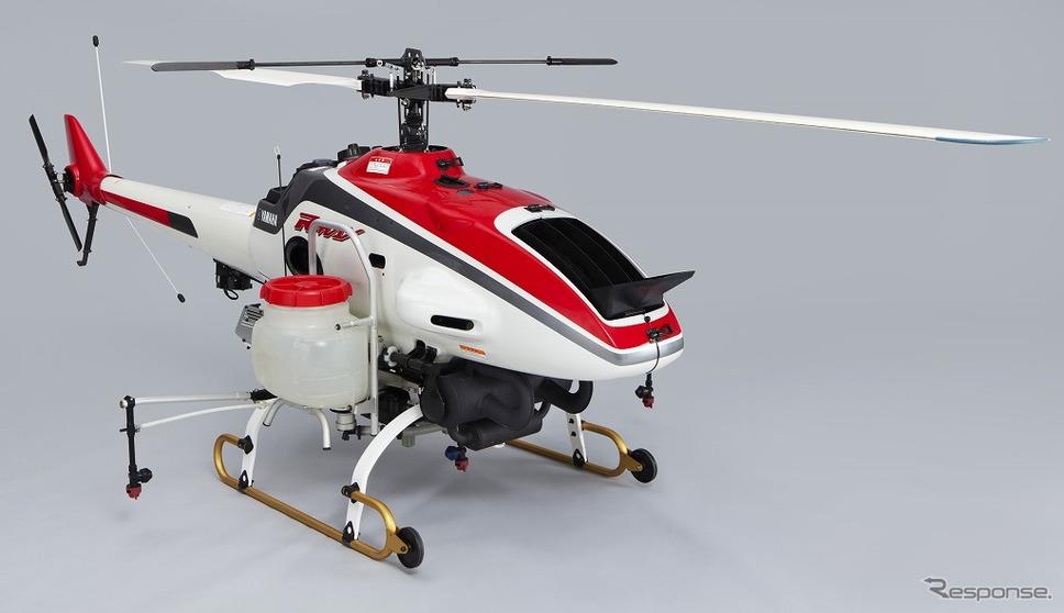 姿勢制御・速度制御システムを搭載した 「RMAX Type II G」(2003年発売)