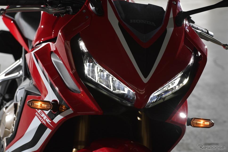 ホンダ CBR650R 新型画像 ホンダモーターサイクルジャパン