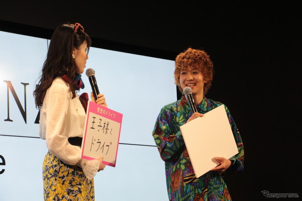 尼神インターの誠子と渚《撮影 吉田瑶子》