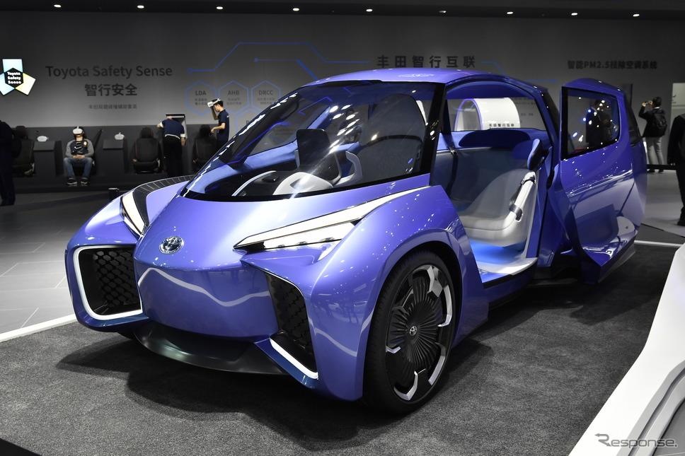 トヨタのEVコンセプトカー、ロンバス(上海モーターショー2019)《撮影 雪岡直樹》