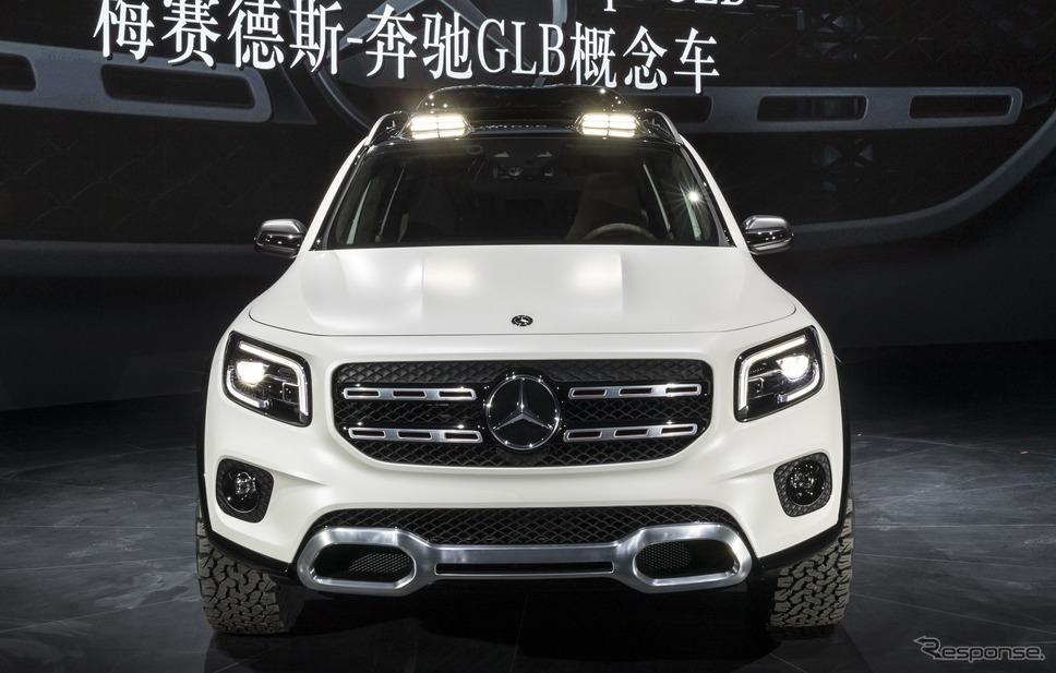 メルセデスベンツ・コンセプト GLB(上海モーターショー2019)
