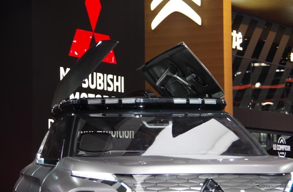 MITSUBISHI e-Yi CONCEPT(三菱 イーイーコンセプト)上海モーターショー2019《撮影 宮崎壮人》