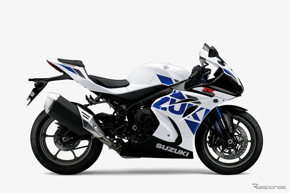 スズキ GSX-R1000R ABS パールグレッシャーホワイト