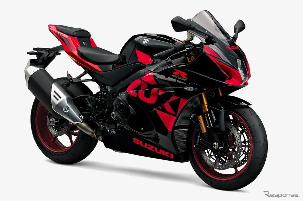 スズキ GSX-R1000R ABS グラススパークルブラック/パールミラレッド
