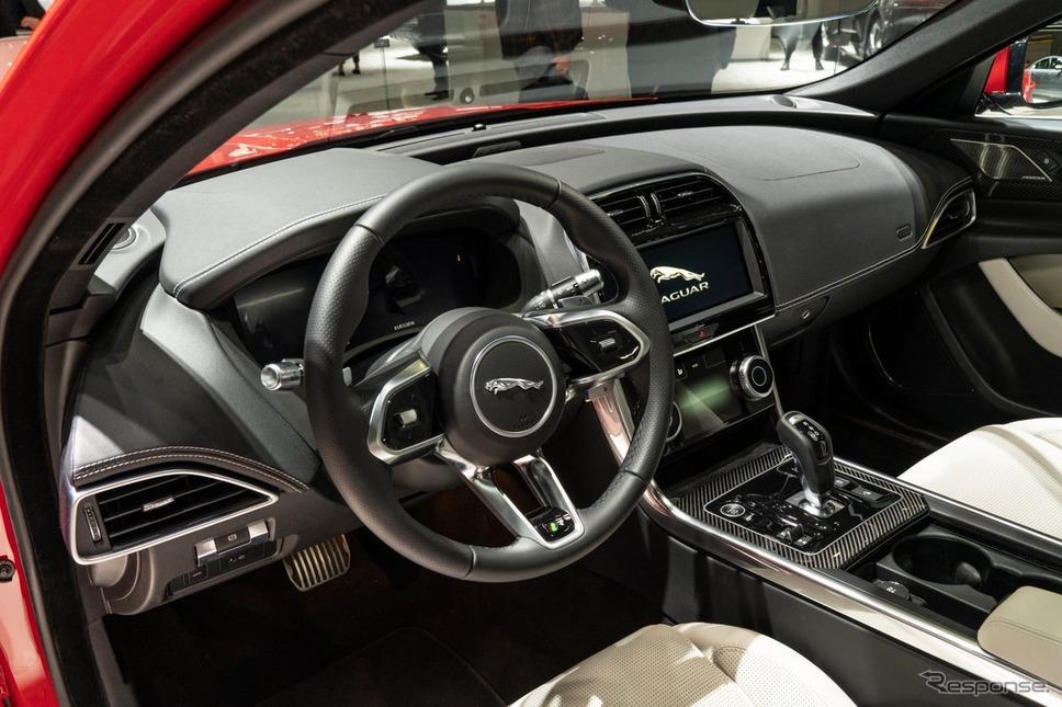 ジャガー XE 改良新型(ニューヨークモーターショー2019)