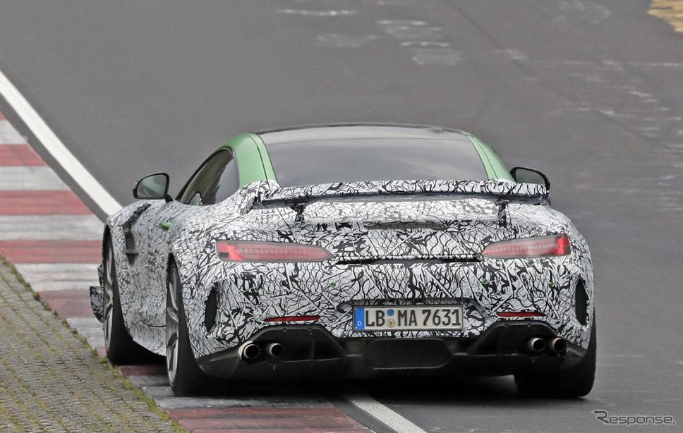 メルセデス AMG GT ブラックシリーズ 市販型(スクープ写真)《APOLLO NEWS SERVICE》