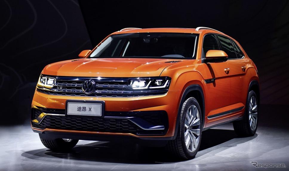 フォルクスワーゲンの大型SUVにクーペ派生、上海モーターショー2019で発表