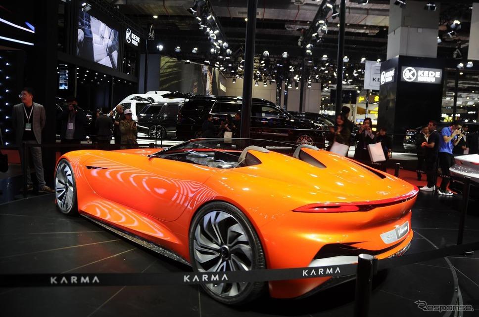 カルマオートモーティブのカルマ SC1 ビジョンコンセプト(上海モーターショー2019)