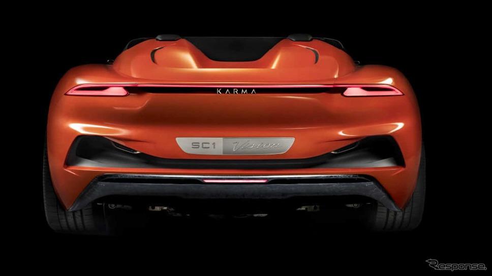 カルマオートモーティブのカルマ SC1 ビジョンコンセプト
