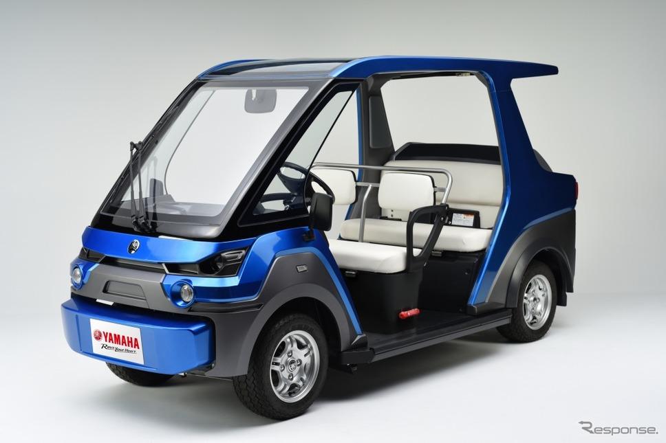 FC搭載の電動小型低速車両、ヤマハ YG-M FC