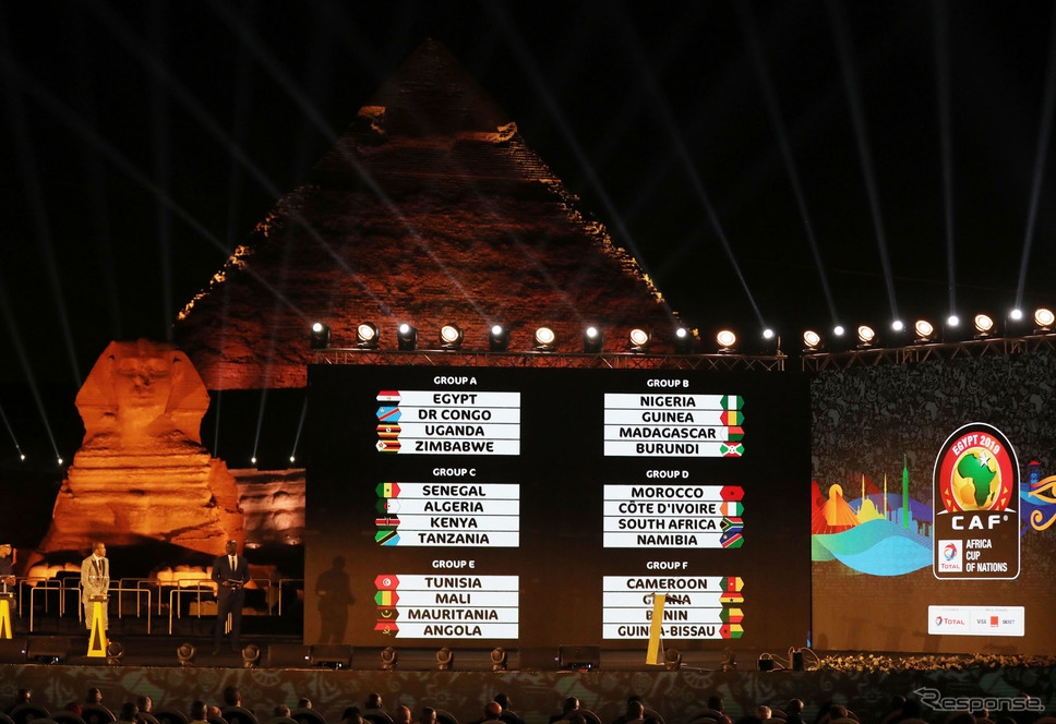 TOTAL AFRICA CUP OF NATIONS EGYPT 2019対戦組み合わせ抽選会《photo: CAF》