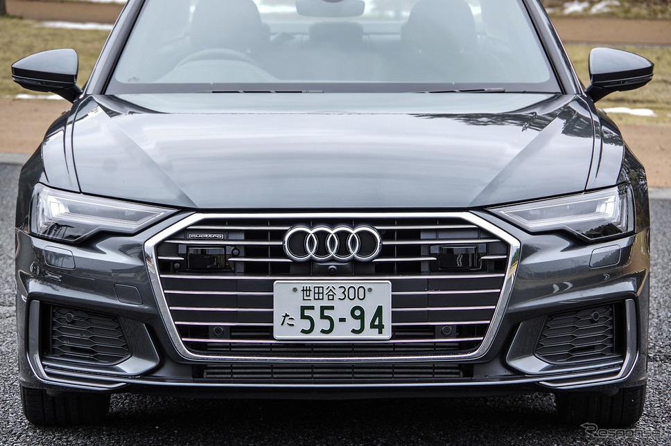 アウディ A6セダン 新型(A6 55 TFSI クワトロ S-line)《撮影 宮崎壮人》