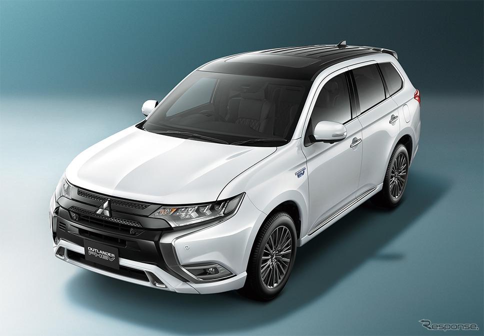 三菱 アウトランダーPHEV 2019年モデル《写真 三菱自動車》