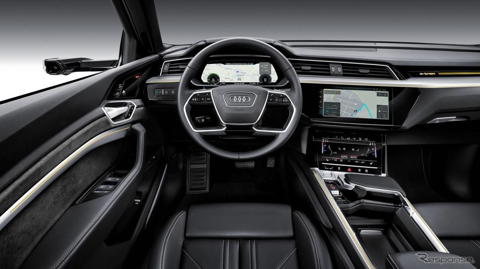 アウディ e-tron《photo by Audi》