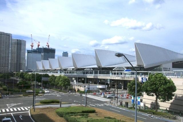 会場のパシフィコ横浜《写真AC》