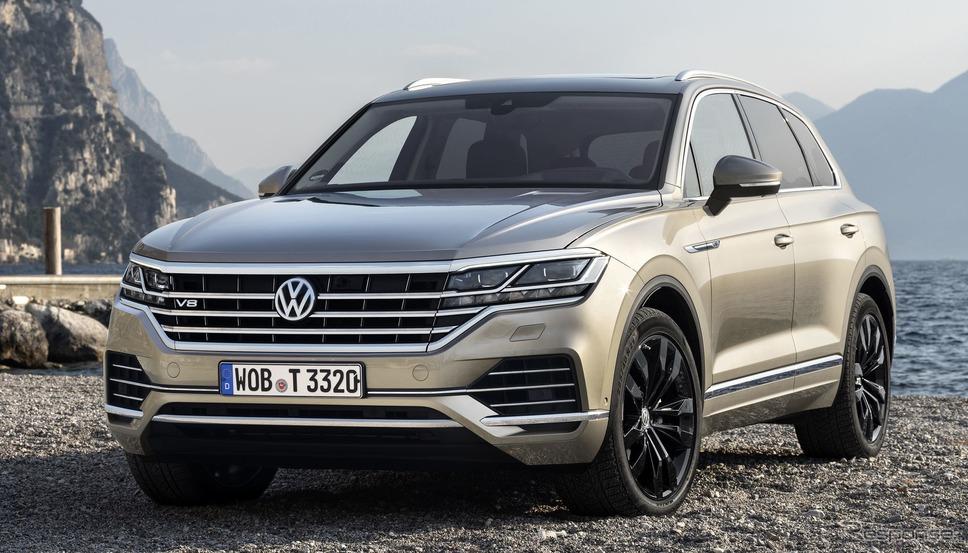 フォルクスワーゲン・トゥアレグ 新型のV8TDI《photo by Volkswagen》