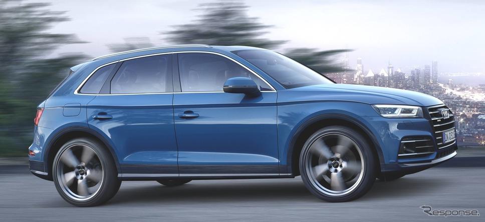 アウディ Q5 新型のPHV、Q5 55 TFSI e クワトロ《photo by Audi》
