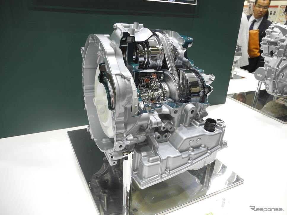 ジヤトコの軽自動車専用CVT「Jatco CVT-S」(人とくるまのテクノロジー2019)《撮影 山田清志》