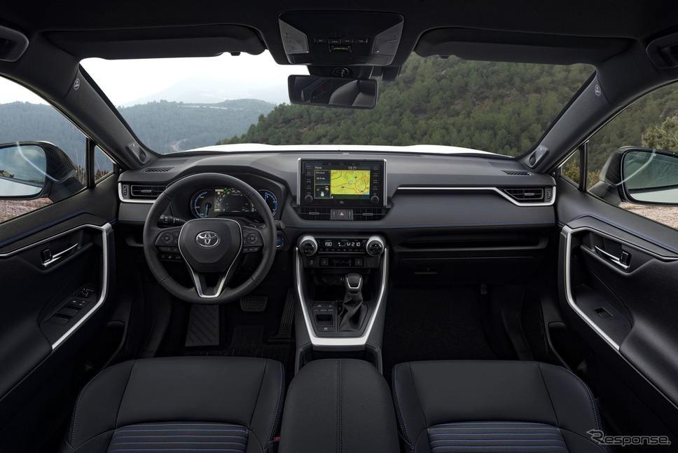 トヨタRAV4ハイブリッド 新型(欧州仕様)《photo by Toyota》