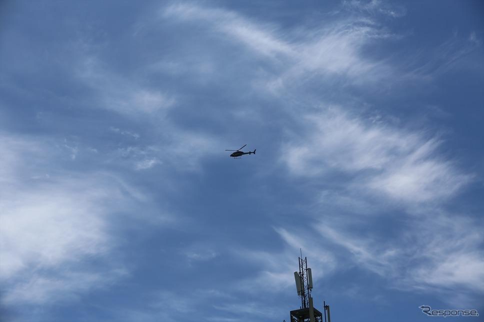 霧が出た場合、救急ヘリが飛べないため走行は中止となる(マン島TTレース2019)《撮影 小林ゆき》