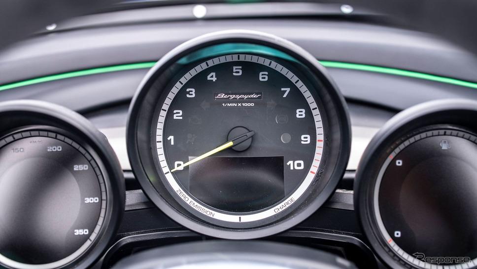 ボクスター・ベルクスパイダー《photo by Porsche》