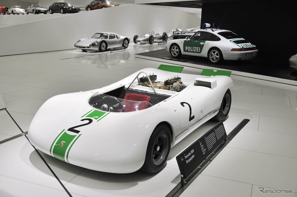 909ベルクスパイダー《photo by Porsche》