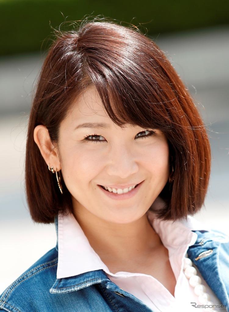 今井優杏さん《写真 富士スピードウェイ》