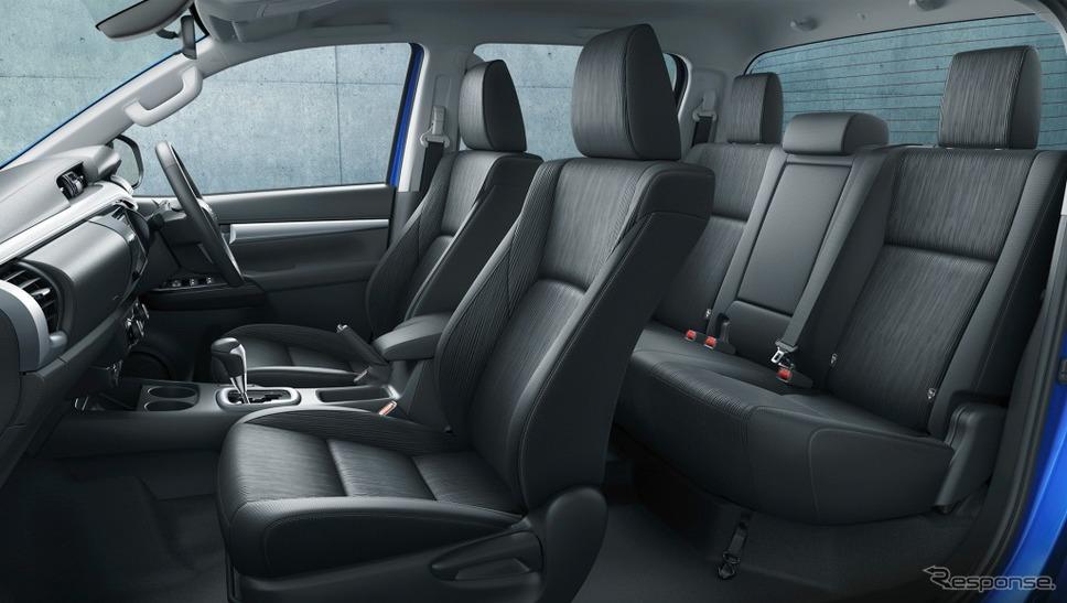 トヨタ ハイラックス Z(内装色:ブラック)《写真 トヨタ自動車》