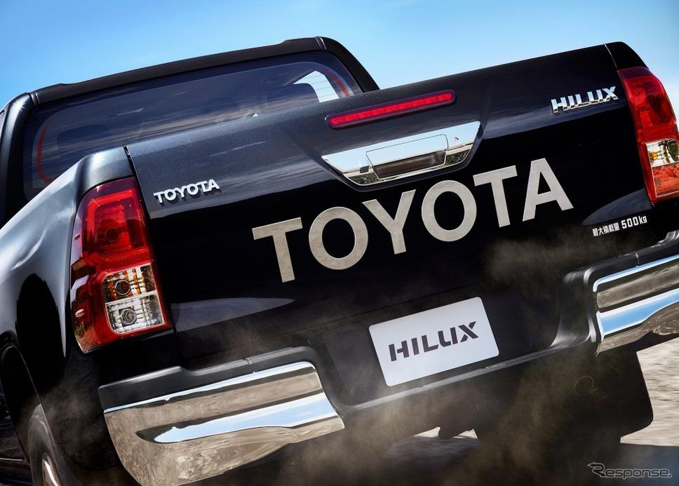 トヨタ ハイラックス Z(アティチュードブラックマイカ)《写真 トヨタ自動車》
