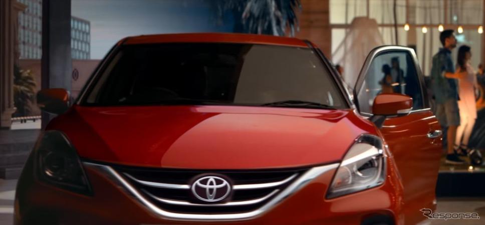 トヨタ・グランザ のティザーイメージ《photo by Toyota》