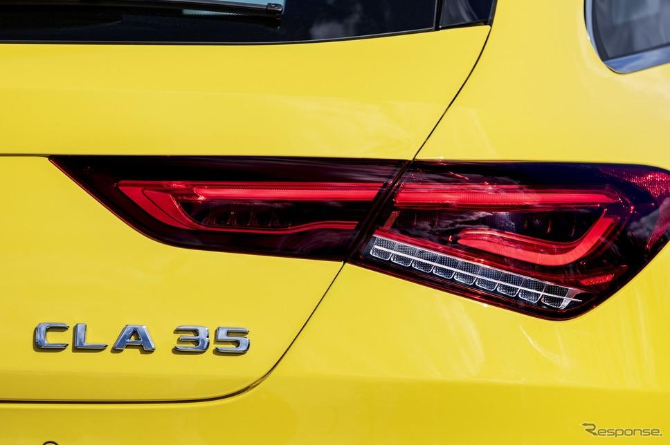 メルセデスAMG CLA 35 4MATIC シューティングブレーク《photo by Mercedes-Benz》