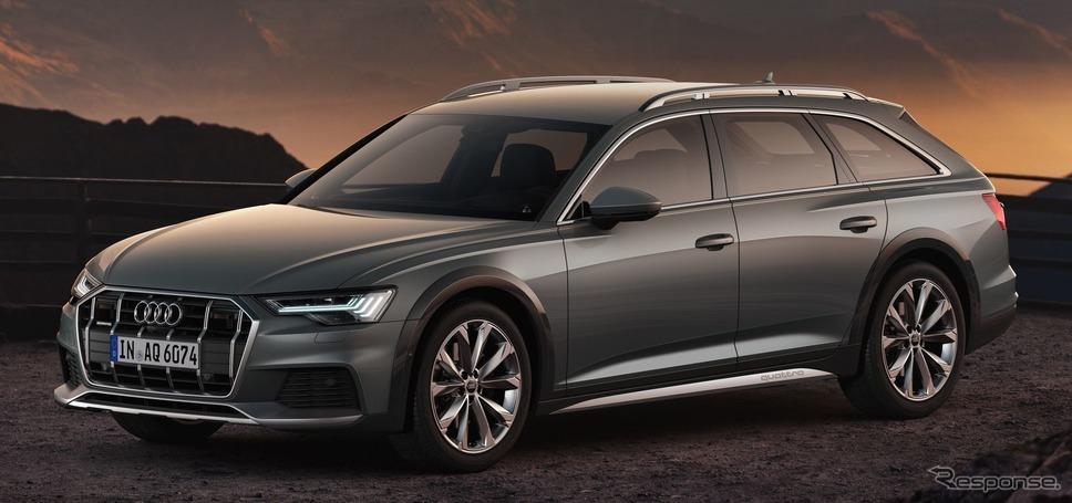 アウディA6オールロードクワトロ新型《photo by Audi》