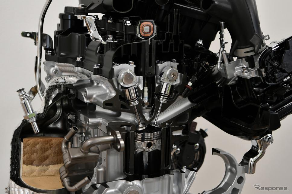 ダイハツ タント 新型に搭載されるDNGAエンジン《撮影 雪岡直樹》