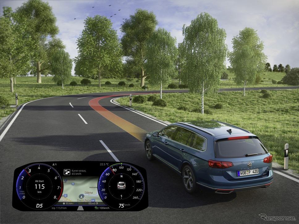 フォルクスワーゲン・パサート・ヴァリアント改良新型《photo by VW》
