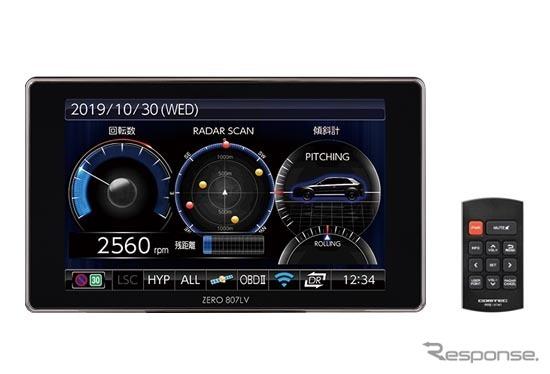 コムテック GPSレーザー&レーダー探知機「ZERO 807LV」《写真 コムテック》