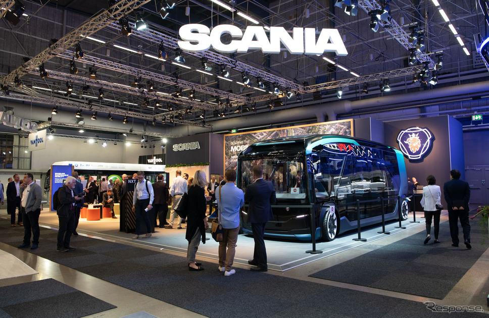 スカニアNXTコンセプト(UITPグローバル公共交通サミット)《photo by Scania》