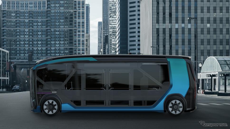 スカニアNXTコンセプト(バス)《photo by Scania》
