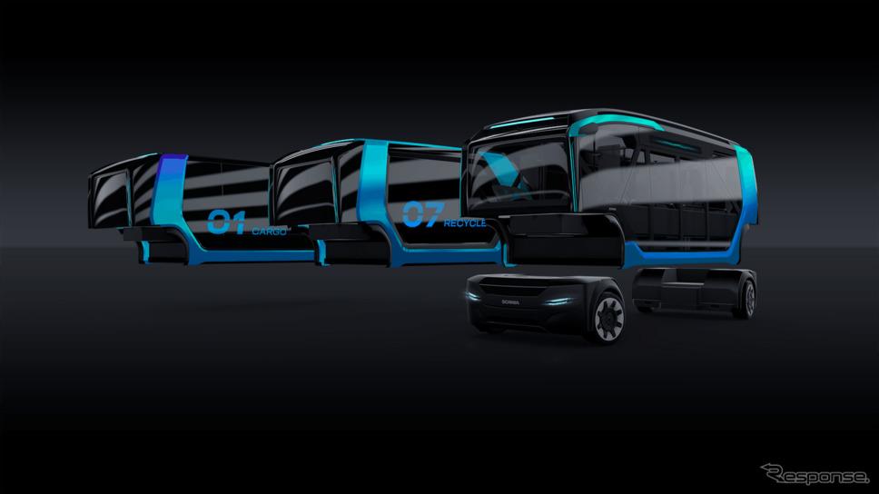 スカニアNXTコンセプト《photo by Scania》