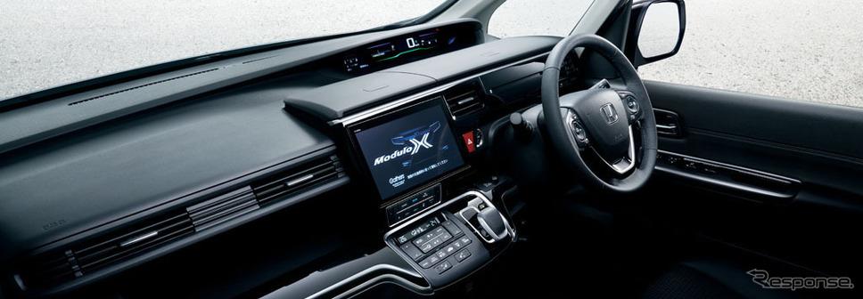 ホンダ ステップワゴン ハイブリッド モデューロ X ホンダセンシング インストルメントパネル(10インチ プレミアム インターナビ装着車)