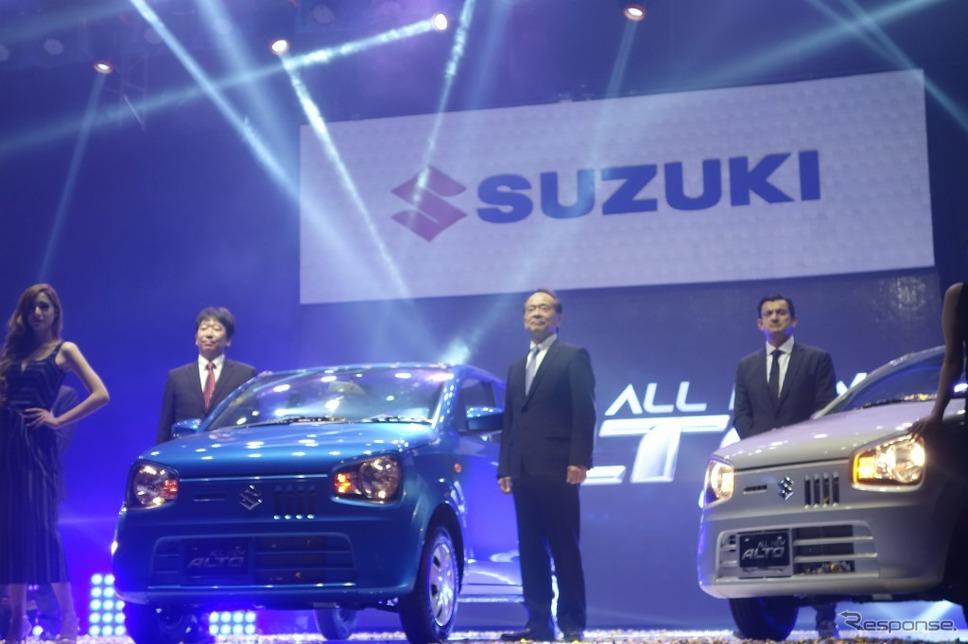 スズキ、パキスタンで660ccエンジンを搭載した新型「アルト」を発売《写真 スズキ》