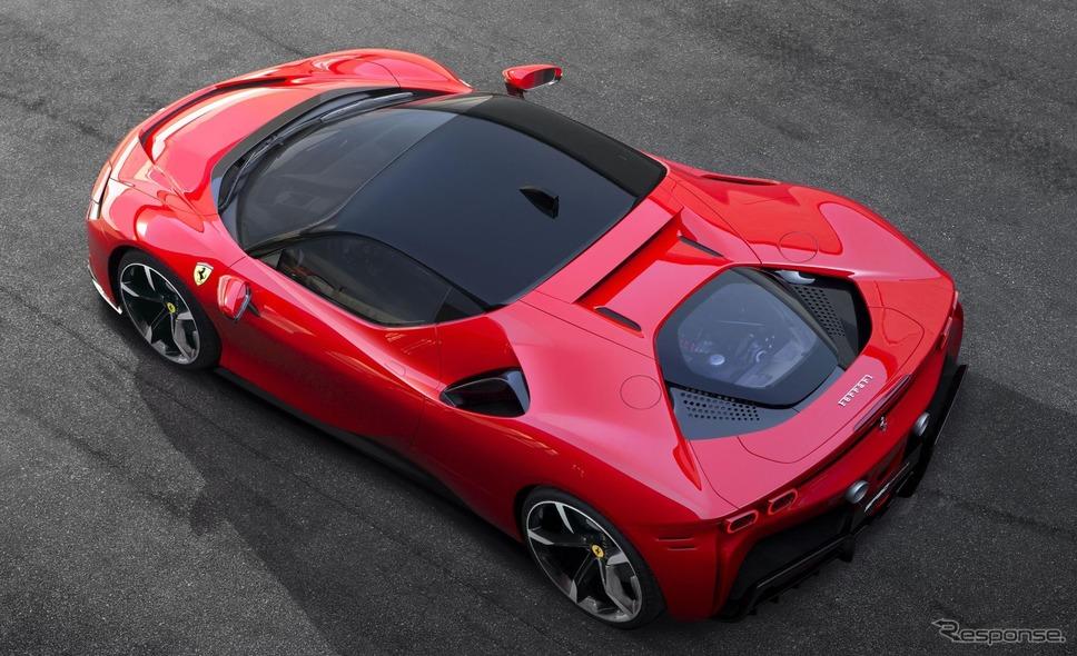 フェラーリ SF90 ストラダーレ《photo by Ferrari》