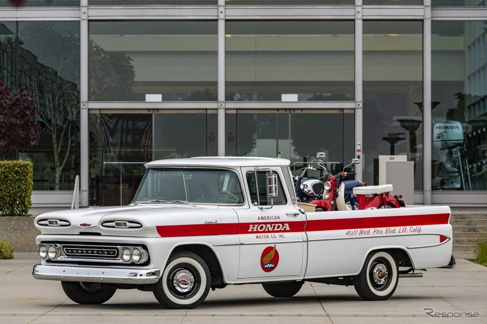 ホンダがフルレストアしたシボレー・アパッチ10(1961年製)《photo by Honda》