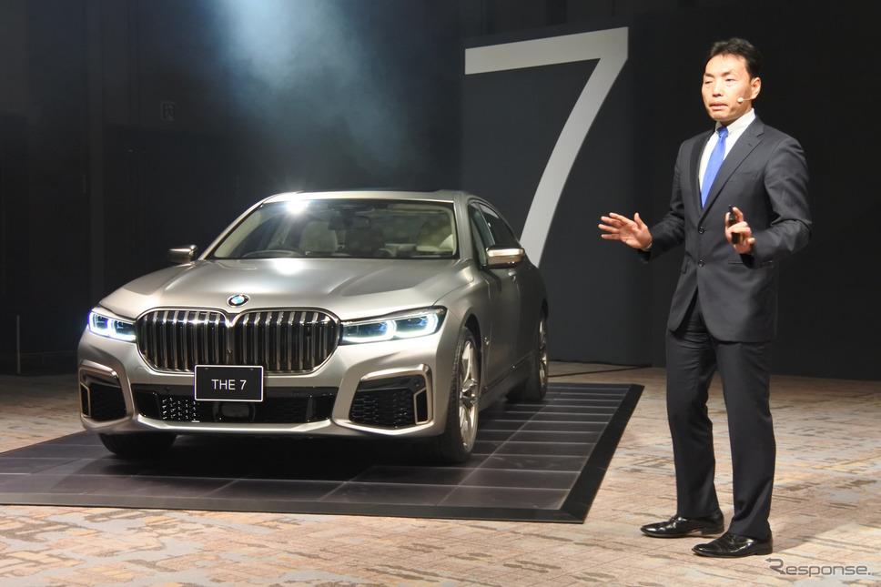 BMW 7シリーズ 改良新型《撮影 小松哲也》