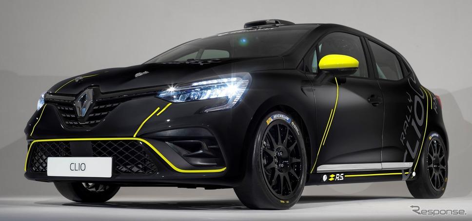 ルノー・クリオ(日本向けルーテシアに相当)新型のレーシングカー《photo by Renault》