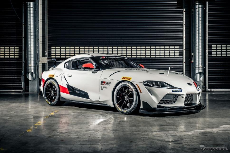 GR Supra GT4《画像:トヨタ自動車》