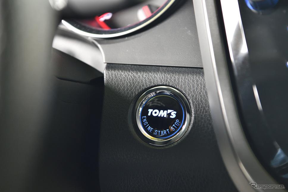 TOYOTA カムリのコンプリートモデル『TOM'S C35』登場《PHOTO:雪岡直樹》