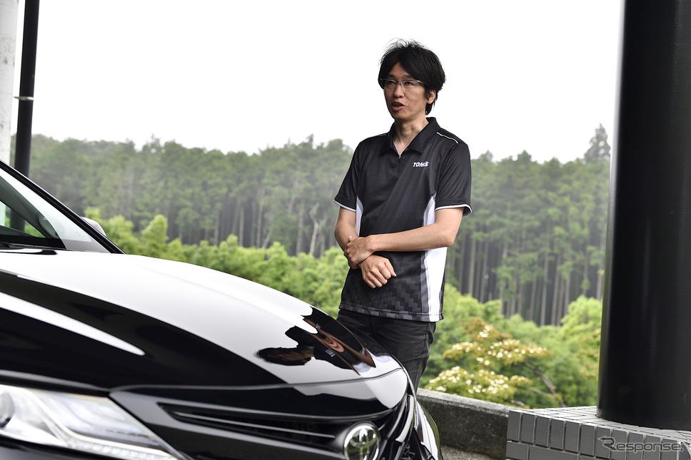 トムス マーケティング本部 自動車用品部 部長 高橋 勉氏《PHOTO:雪岡直樹》